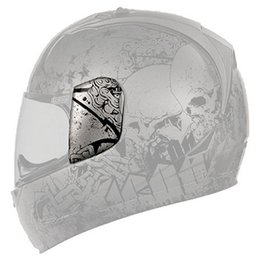 Charcoal Icon Replacement Sideplates For Alliance Torrent Full Face Helmet Pair
