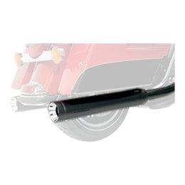 Supertrapp Stout Slip-On Muffler 4 Inch Black For Harley-Davidson FLHT/R/X