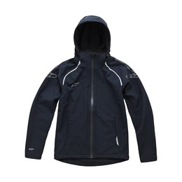 Alpinestars Mens GS Formula Windproof Hooded Jacket 2015 Black