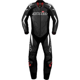 Spidi Sport Mens Supersport Wind Pro 1 Piece Leather Suit Black