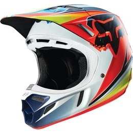 Fox Racing V4 Race MIPS DOT Helmet Blue