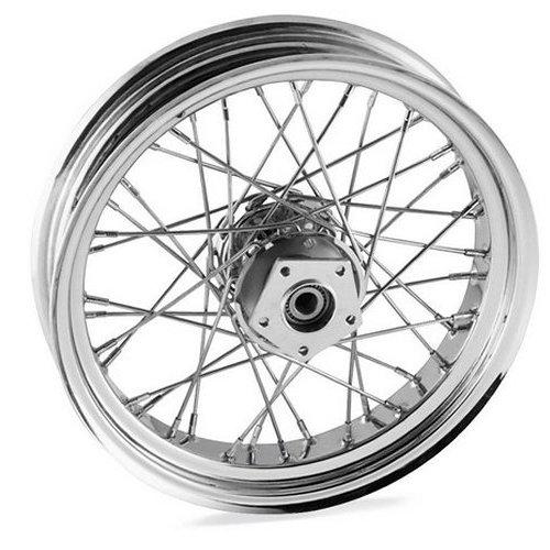 499 95 Bikers Choice 40 Spk Wheel 21x2 15 For Harley 153111
