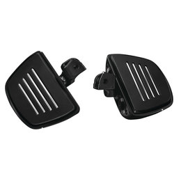 Kuryakyn Premium Mini Boards With Comfort Drop Mounts Pair For Honda Black 7564 Black