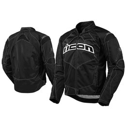Black Icon Contra Textile Jacket