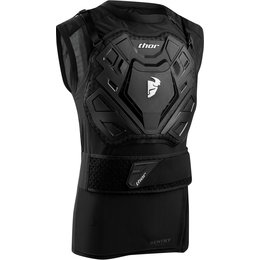 Thor Mens Sentry Ridge Vest Sleeveless Protection Jacket Black