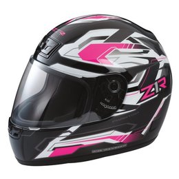 Pink Z1r Womens Phantom Frontier Full Face Helmet 2014