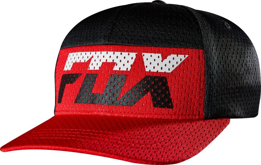 promo code a0006 30a35 ... spain fox racing youth boys rize mesh flexfit hat red ed6ed ae146
