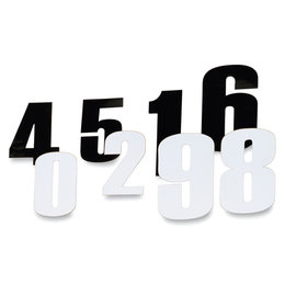 Black Moose Racing Race Number 4.5 Inch #5