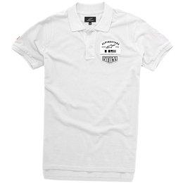 Alpinestars Mens Pivot Polo Shirt White