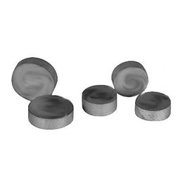 K&L Replacement Valve Shims 7.5mm X 2.95mm 5 Pack Universal Unpainted