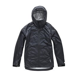 Alpinestars Mens GS Qualifier Waterproof Hooded Rain Jacket 2015