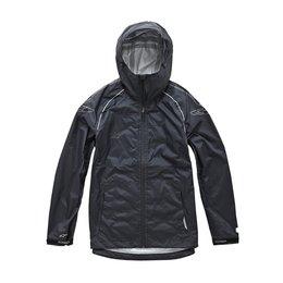 Alpinestars Mens GS Qualifier Waterproof Hooded Rain Jacket 2015