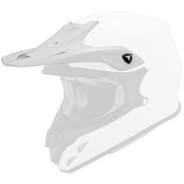 Scorpion VX-R70 Replacement Visor Peak MX/Offroad Helmet Accessory White
