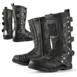 Johnny Black Icon Womens 1000 Collection Elsinore Leather Boots 2013 Us 8