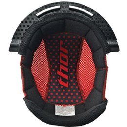 Black, Red Thor Replacement Liner For 2011 Youth Quadrant Helmet Black Red