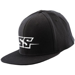 Speed & Strength Mens Hammer Down Flat Bill Flexfit Hat Black