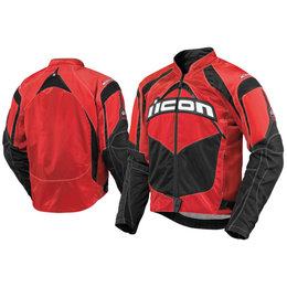 Red Icon Contra Textile Jacket