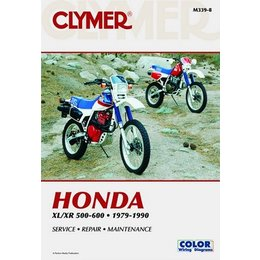 Clymer Repair Manual For Honda XR 500-650 79-90