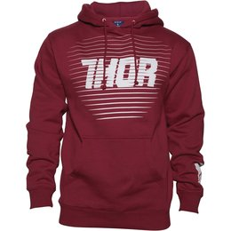 Thor Mens Chase Hoody Red