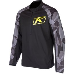 Klims Mens Revolt Wind-Resistant Snowmobile Pullover Jersey Black