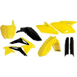 Acerbis Full Plastic Kit For Suzuki RMZ450 2008-2014 Original 2198044584 Yellow