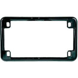 Black Chris Products License Plate Frame Universal