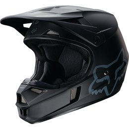 Fox Racing Youth V1 Matte DOT Helmet Black