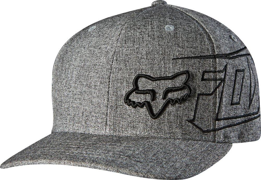 new product 51b03 fd01a ... free shipping fox racing mens swindler flexfit hat grey 22d1f 6f9ea