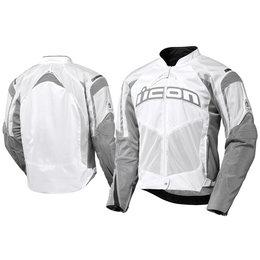 White Icon Contra Textile Jacket
