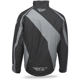 Fly Racing Mens Outpost Snow Jacket Black
