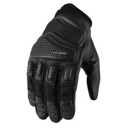 Black Icon Superduty 2 Leather Gloves
