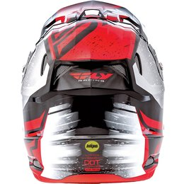 Fly Racing Toxin Resin Graphic MX Helmet Red