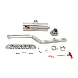 SuperTrapp IDSX Exhaust System Stainless Steel For Yamaha Grizzly 600 98-01