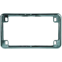 Chrome Chris Products License Plate Frame Universal