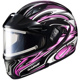 HJC Womens CL-Max 2 Atomic Electric Shield Modular Snow Helmet With Flip Up Chin Pink