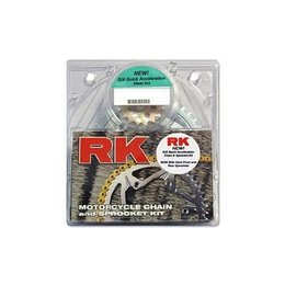RK Chain/Sprocket Kit 520 O Steel For Honda TRX250X/300EX