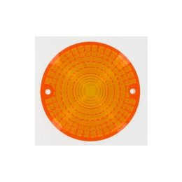 K&S Technologies Turn Signal Replacement Lens Amber For Honda CX500 79-83