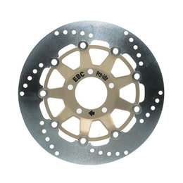 EBC Standard Rear Brake Rotor For Honda VFR750R RC30 1990 Stainless Steel 1011 Unpainted