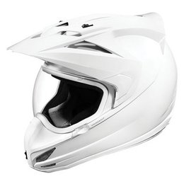 White Gloss Icon Variant Helmet