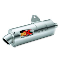 SuperTrapp IDSX Exhaust System Stainless Steel For Yamaha Grizzly 660 02-08