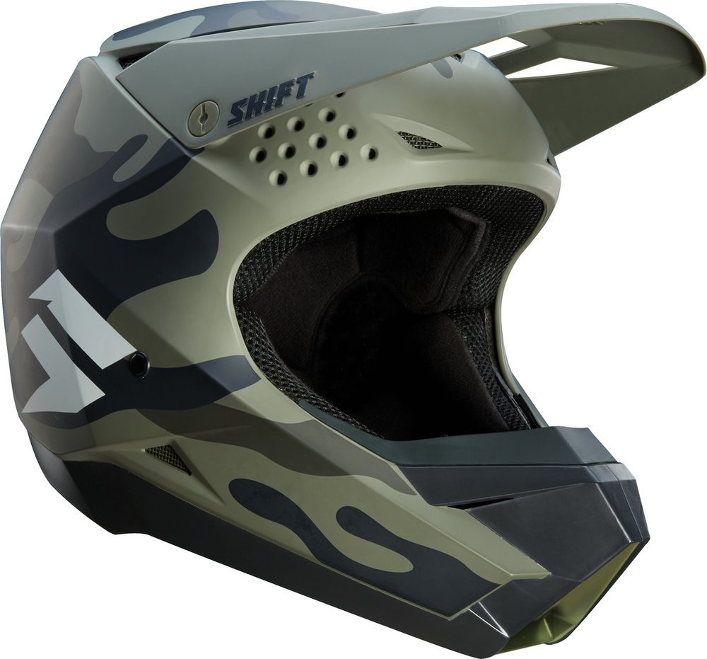 149 95 Shift Racing Whit3 White Label Camo Mx Helmet 1051610
