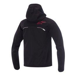 Grey, Red Alpinestars Mens Spark Softshell Hooded Textile Jacket 2015 Grey Red