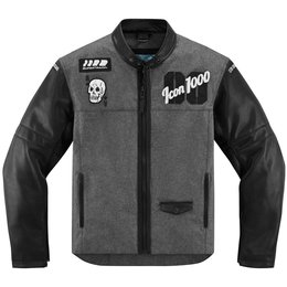 Icon Mens 1000 Collection Vigilante Stickup Textile Jacket