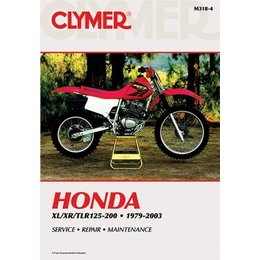 Clymer Repair Manual For Honda XR TLR 125-200 79-03