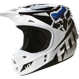 Fox Racing Youth V1 Race DOT Helmet Black