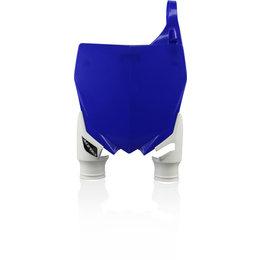 Acerbis Raptor Front Number Plate For Yamaha Blue 2527401006 Blue