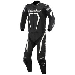 Alpinestars Mens Motegi 2 Piece Leather Suit 2015 Black