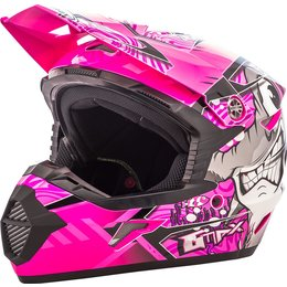 GMAX Youth Girls MX46 Hooper Offroad Helmet Black