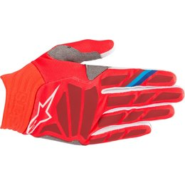 Alpinestars Mens Aviator Gloves Red