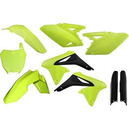 Acerbis Full Plastic Kit For Suzuki RMZ250 2010-2016 Flo Yellow 2198034310 Yellow